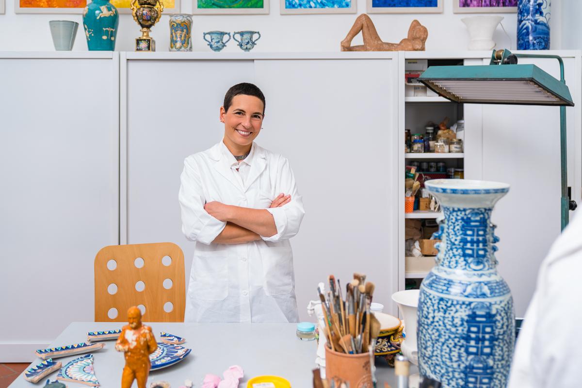 Arti Plastiche Studio di Restauro-Joyce Terreni-porcellana-restauro maiolica-restauro gesso-aerografo-restauro pittorico-12